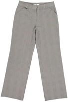 Carolina Herrera Grey Cotton Trousers for Women