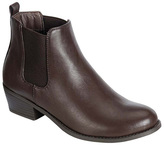 Refresh Brown Tildon Stretch Ankle Boot