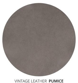 "Brayden Studio Leedom Leather Sofa Upholstery Color: Pumice, Size: 33"" H x 108"" W x 38"" D"