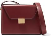 Victoria Beckham Vanity Leather Shoulder Bag - Burgundy