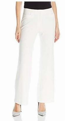 Rafaella Women's Petite Size Luxe Double Weave Pant
