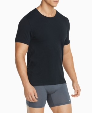 Nike Men's 2-Pack Luxe Cotton Modal Crewneck Undershirts