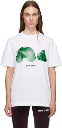 Palm Angels White Kill The Bear T-Shirt
