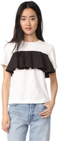 Edit Cotton Frill T Shirt