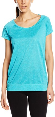 Stedman Apparel Women's Active Performance Raglan Plain Short Sleeve Sports T-Shirt