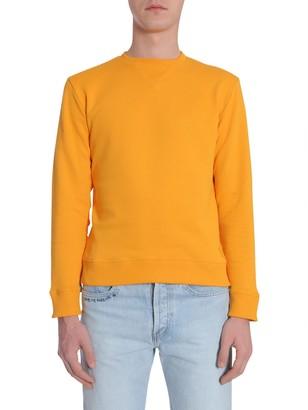 Saint Laurent Round Collar Sweatshirt