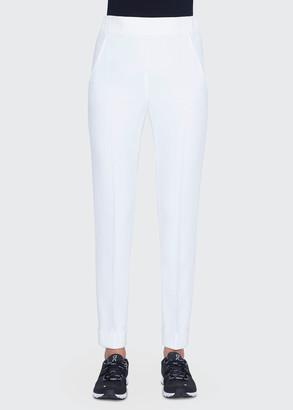 Akris Chris Slim Conical-Leg Trousers