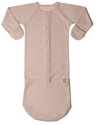 Goumikids Goumi Baby Rose Organic Cotton Nightgown - Pink