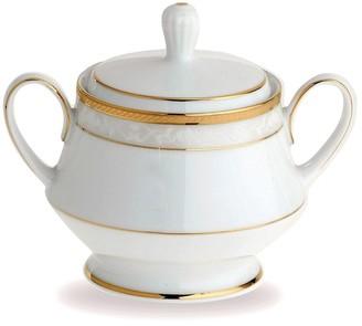 Noritake Hampshire Gold Porcelain Sugar Bowl 300ml White