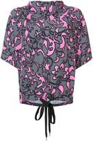 Marc Jacobs printed loose blouse