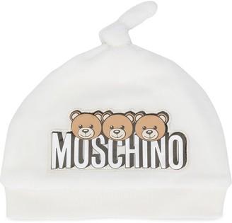 MOSCHINO BAMBINO Toy Bear beanie
