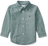 Ralph Lauren Checked Cotton Oxford Shirt