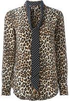 Equipment Kate Moss for pussy bow shirt - women - Silk - S
