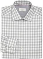 Eton Contemporary-Fit Gingham Cotton Dress Shirt