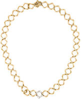 Tiffany & Co. Diamond Open Link Necklace