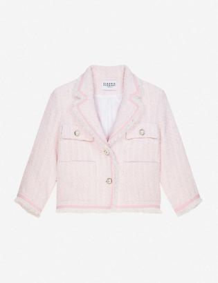 Claudie Pierlot Single-breasted tweed jacket