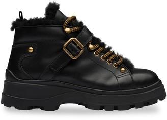 Miu Miu Ankle Platform Booties