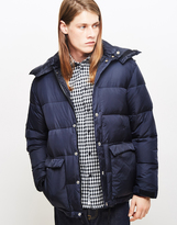 Wood Wood Tim Padded Down Jacket Navy