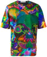 Christopher Kane pansy print T-shirt - men - Cotton - S