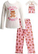 Dollie & Me Girls 4-14 Smart Cookie Pajama Set