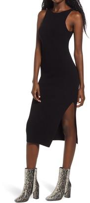 Leith Rib Sleeveless Midi Dress