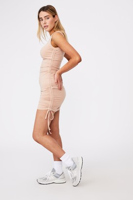 Factorie Ruched Sleeveless Dress