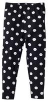 Gerber Graduates® Toddler Girls' Polka Dot Leggings - Black