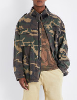Yeezy Season 4 Camouflage-patterned stretch-cotton jacket