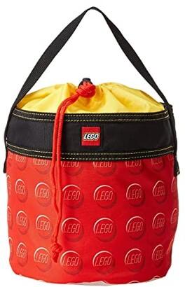 Lego Cinch Bucket (Red) Bags