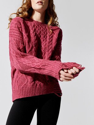 NSF Anabel Cable Knit Sweater