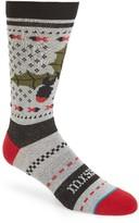 Stance Men's Missile Toe Crew Socks