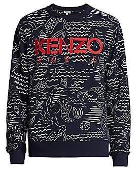 Kenzo Men's All-Over Printed Sweatshirt