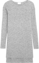 DKNY Ribbed Cotton-blend Sweater - Gray