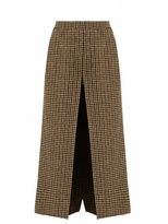Saint Laurent Wide-leg wool-tweed culottes