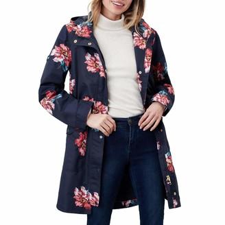 Joules Women's Loxley Print Waterproof Coat