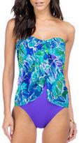 Lauren Ralph Lauren Flyaway Strapless One-Piece Swimsuit