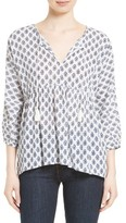 Soft Joie Women's Ulyana Print Peasant Top