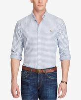 Polo Ralph Lauren Men's Big & Tall Plaid Cotton Oxford Shirt