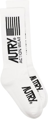 AUTRY Intarsia Knit Socks