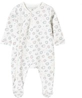 Little Marc Jacobs White Leopard Print Babygrow