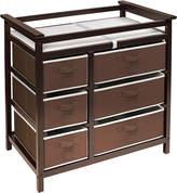 Badger Basket Modern Baby Changing Table