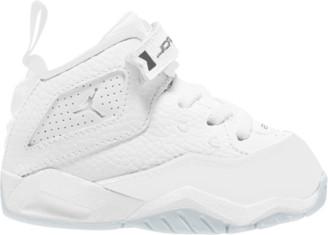 Jordan B'Loyal Basketball Shoes - White / Metallic Silver
