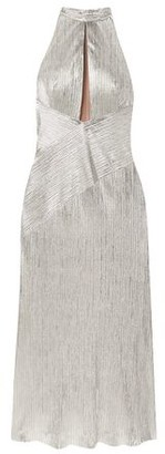 Galvan 3/4 length dress