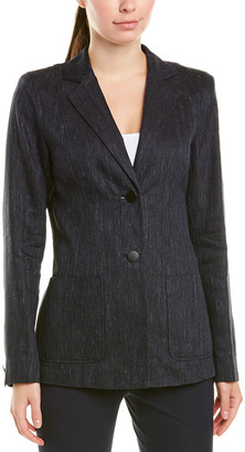 Lafayette 148 New York Kenley Linen-Blend Jacket