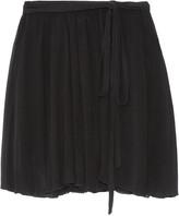 Etoile Isabel Marant Akili georgette wrap mini skirt
