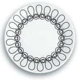 notNeutral Black & White Ribbon Salad Plate - Set of Four
