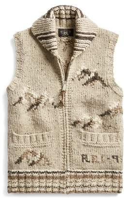 Ralph Lauren Hand-Knit Jumper Waistcoat