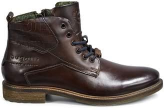 Bugatti Marcello Croc-Embossed Leather Boots