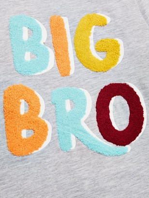 Very Boys Big Brother T-Shirt - Grey Marl