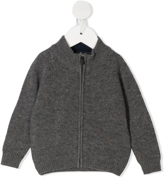 Il Gufo Knitted Bomber Jacket